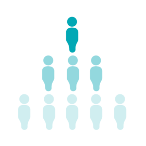 A single person can have conversations with 500–5,000 people per hour.