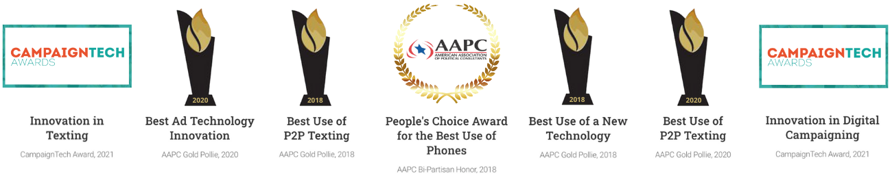 RumbleUp Awards - The Best in P2P Texting Since 2018